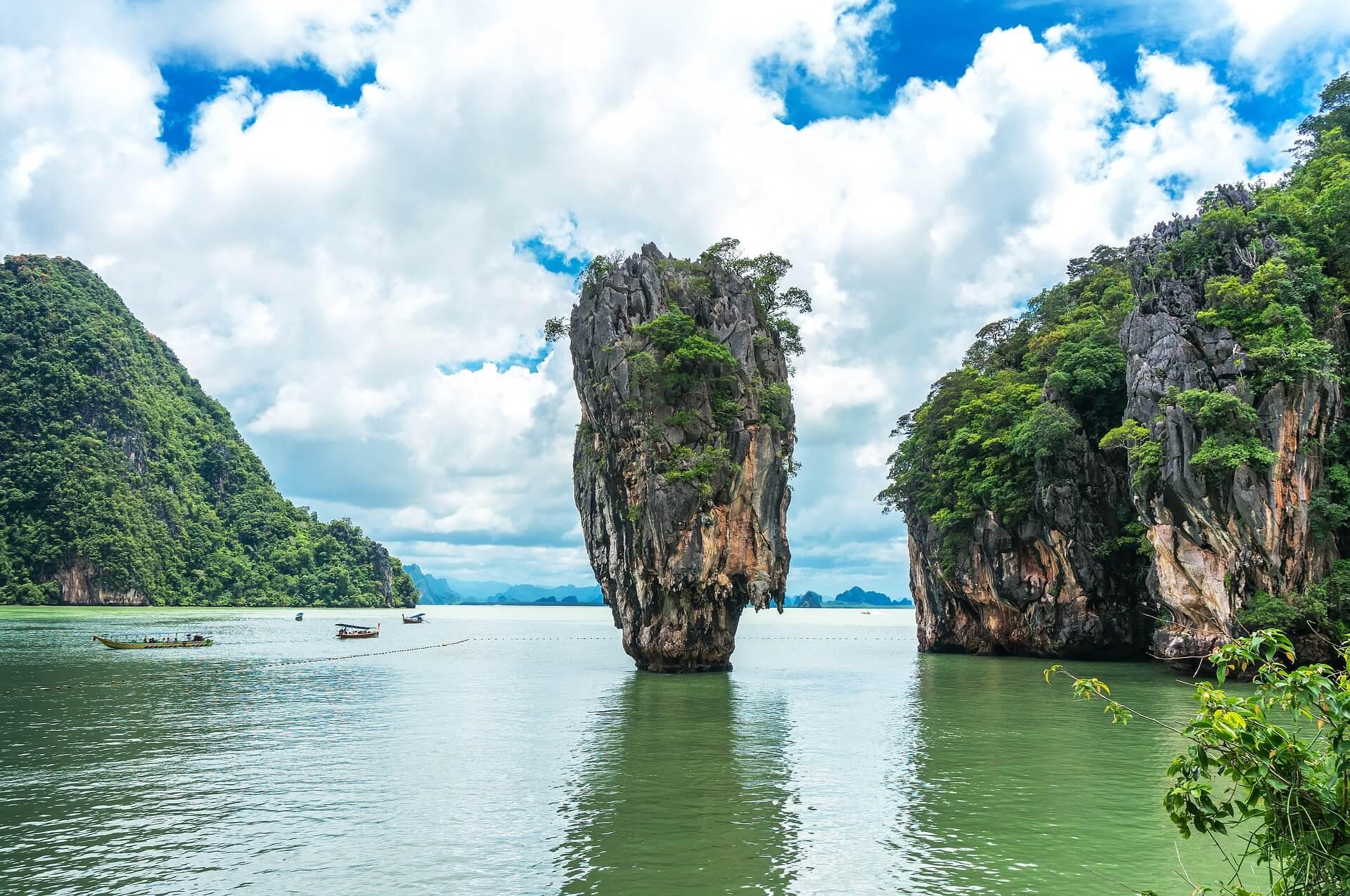 felslandschaft thailand
