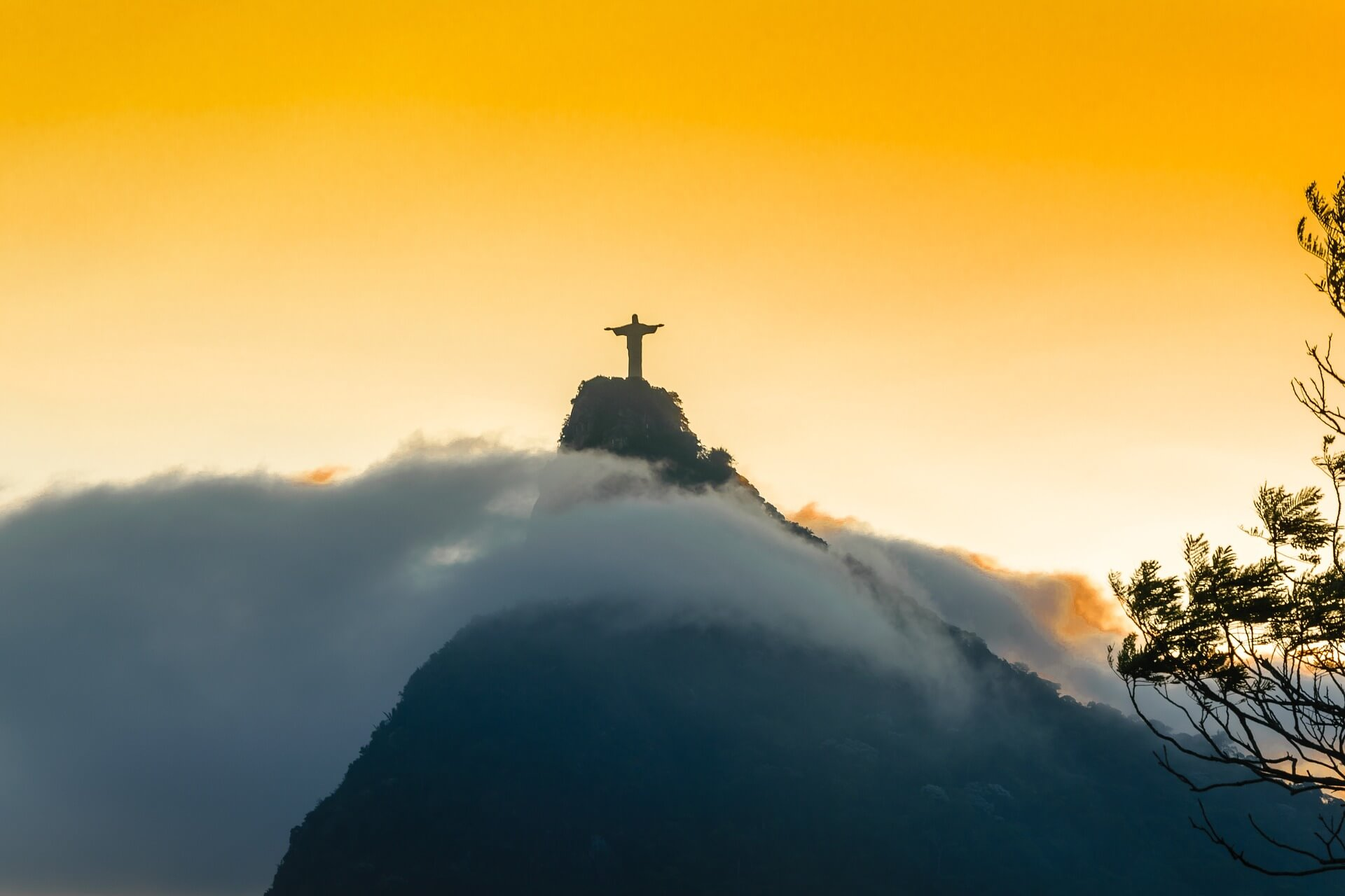 Christus-Statue Brasilien